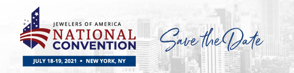 Jewelers of America National Convention Save the Date