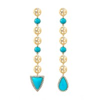 earrings shoulder duster dana bronfman