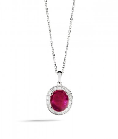 Greenland Ruby necklace