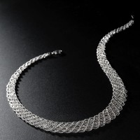 Platinum Born MSS Tapestry Necklace