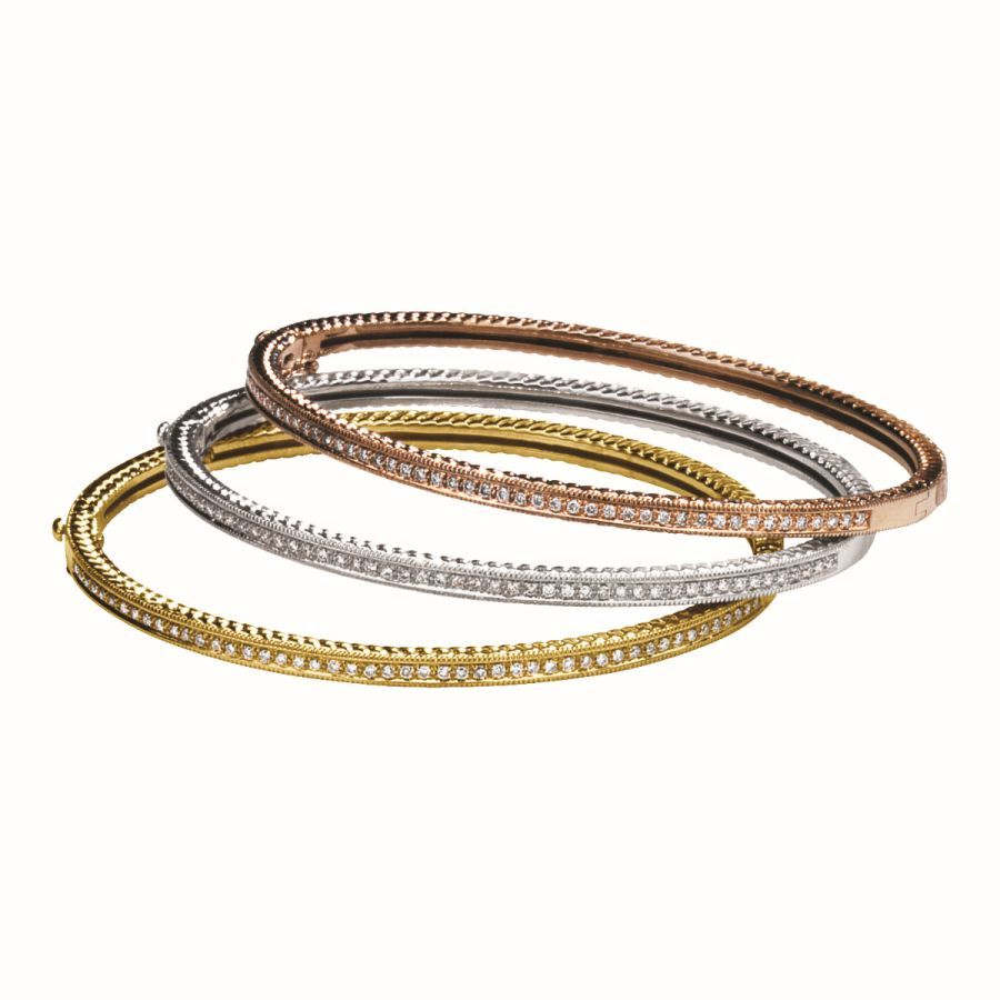 bangles ethos product bangle set stackable bracelets channel diamond canada