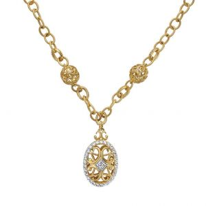 Gold & Diamond Necklace