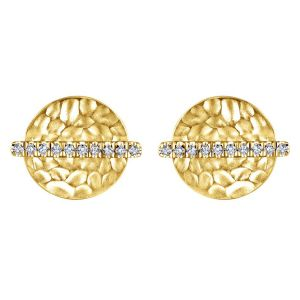 Yellow Gold Studs