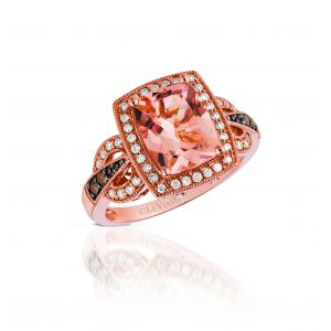 Peach Morganite™® Ring