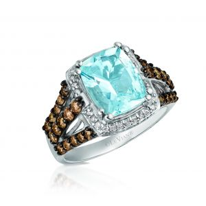 Sea Blue Aquamarine® Ring