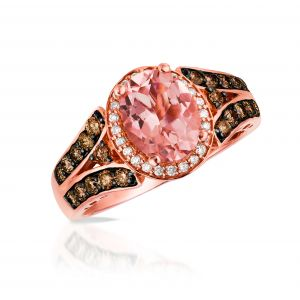 Peach Morganite® Ring