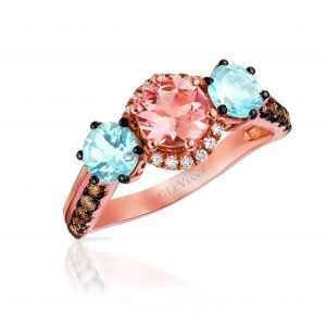 Peach Morganite™ Ring