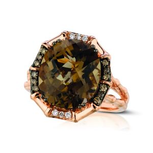 Chocolate Quartz® Ring
