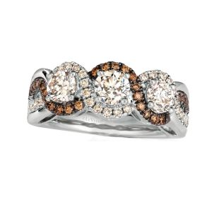 Platinum Collection™ Three Stone Ring
