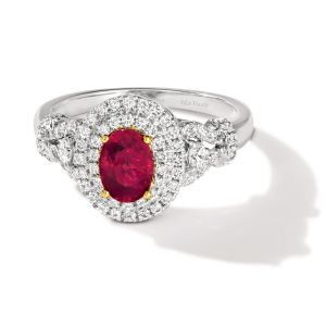 Platinum Collection™ Ruby Ring