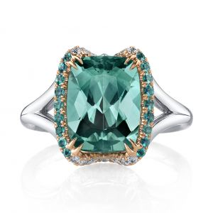 Tourmaline and Alexandrite Ring