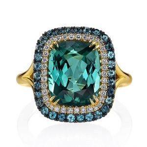 Tourmaline & Alexandrite Ring