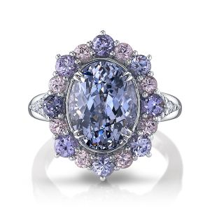 Lavender Spinel Ring