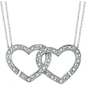 Interlocking Heart Necklace