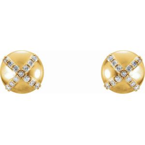 Diamond Accented Earrings