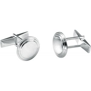 Engravable Round Cufflinks