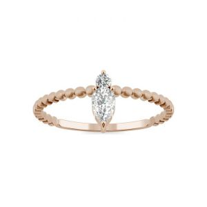 Pear Moissante Ring