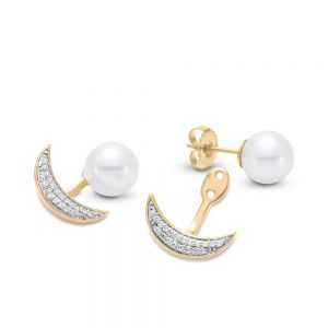 Peek-a-Boo Pearl Earrings