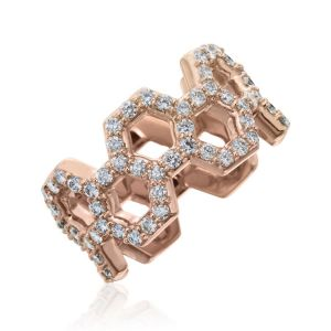 "Diamond ""B"" Ring"
