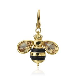 B Honey Bee Charm