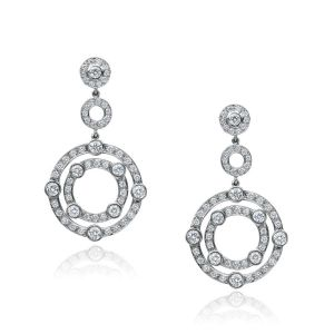 Diamond Carousel Earrings