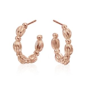 Diamond Nutmeg Earrings