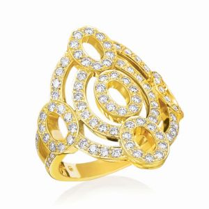 Diamond Carousel Ring