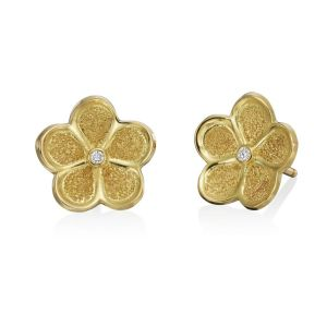 Floating Daisy Studs