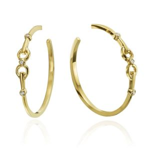 Gallop Hoop Earrings