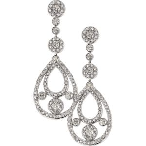 Diamond Partridge Earrings