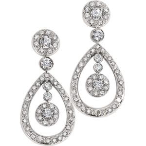 Diamond Partidge Earrings