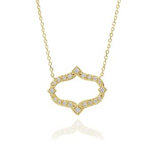 Secret Garden Diamond Pendant