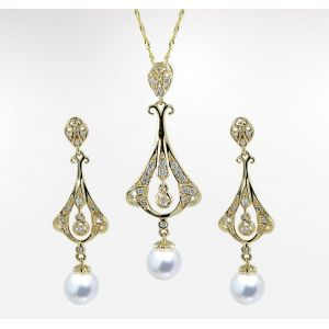 Pearl and Diamond Set