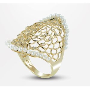 Pearl Lace Ring