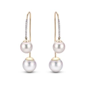 Front-Back Pearl Earrings