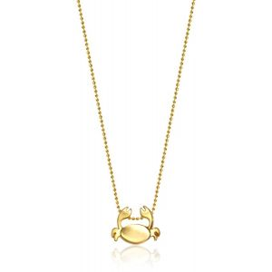 Gold Crab Necklace