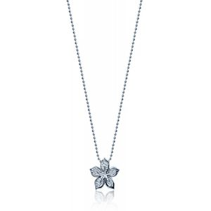 Diamond Lily Necklace