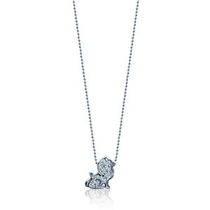Diamond Lion Necklace