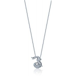 Diamond Seagoat Necklace