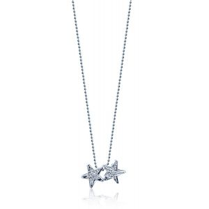 Diamond Twinstars Necklace