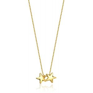 Gold Twinstars Necklace