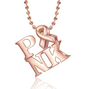 Activist Pink Necklace