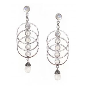 Vitality Sterling Silver Earrings