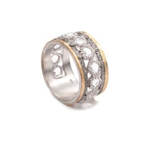 Opera Crystal Line Ring