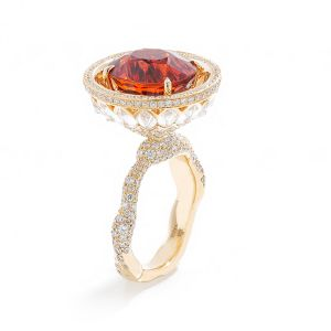 Spessartine Oval Ring