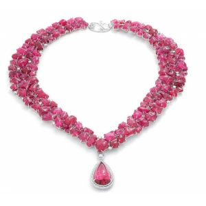 Spinel Trinity Necklace