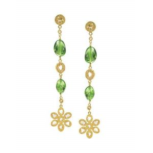 Affinity Peridot Earrings