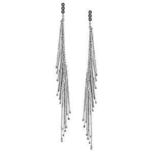 Hanging Stick Diamond Earrings
