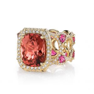 Spinel Sayeda Ring