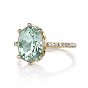 Mint Tourmaline Emani Ring